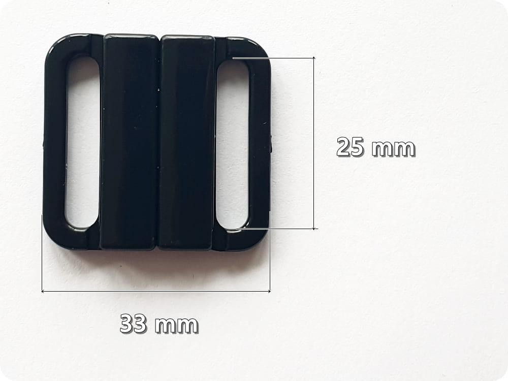 960565888f8e18 ZAPIĘCIE DO STROJU, BIUSTONOSZA PLASTIKOWE 25 mm (F5744) toiowo24h